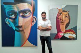 Exposición 'Todos mis caminos conducen al arte' del artista urbano Belin en el Espacio Joven Ibercaja
