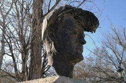 Busto de Mauricio Aznar en Zaragoza