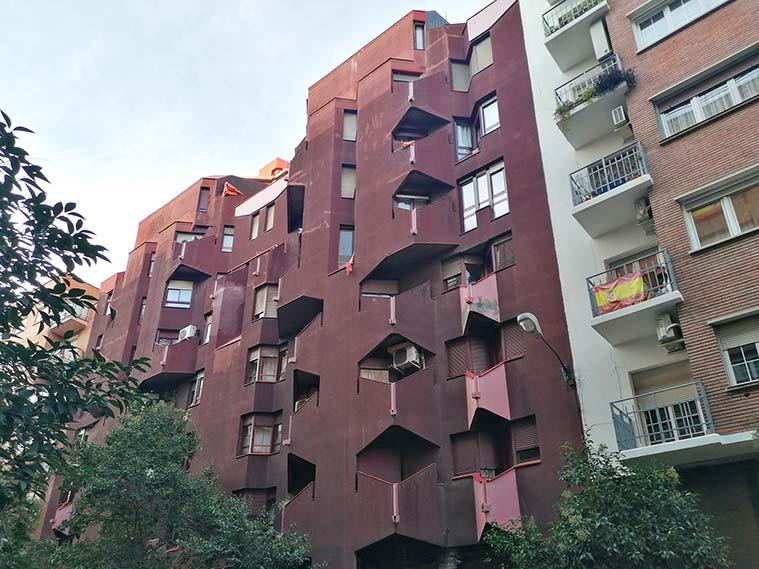 Arquitectura de la calle Francisco Vitoria