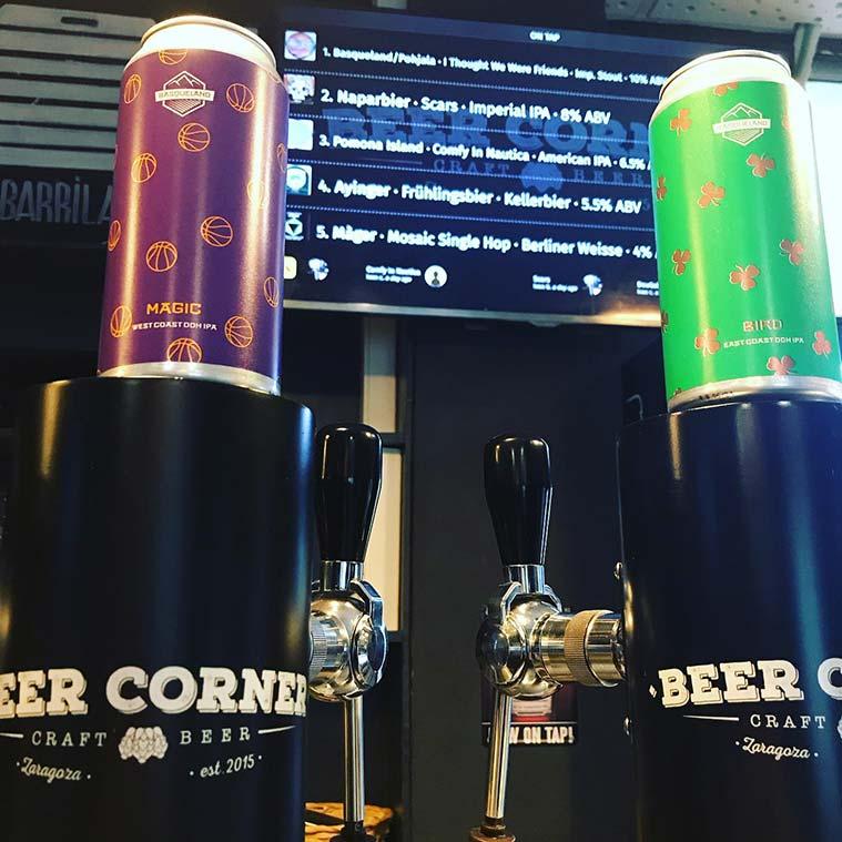 Beer Corner en Calle Heroismo de Zaragoza