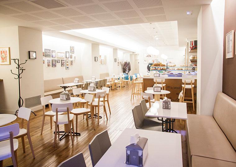 Cafés El Criollo Store Calle Canfranc Zaragoza