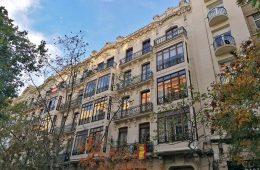 Calle Joaquin Costa en Zaragoza