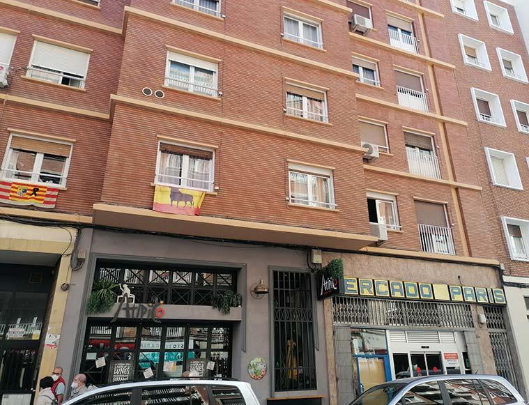 Calle Jose Maria Lacarra de Miguel de Zaragoza