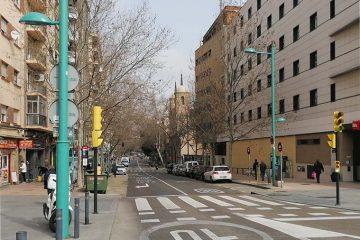 Calle Sobrarbe de Zaragoza
