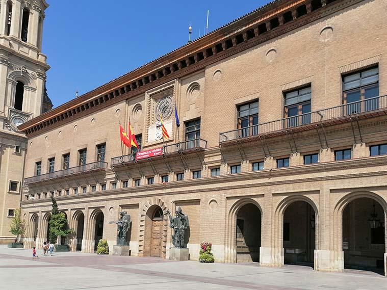 Casa Consistorial de Zaragoza (sede del Ayuntamiento de Zaragoza)