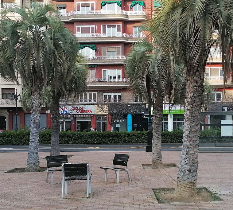 Conda Aranda visto desde la Plaza del Portillo
