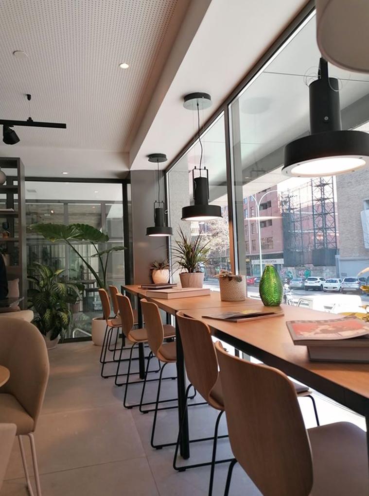 Decoración del Restaurante y Rooftop Lateral