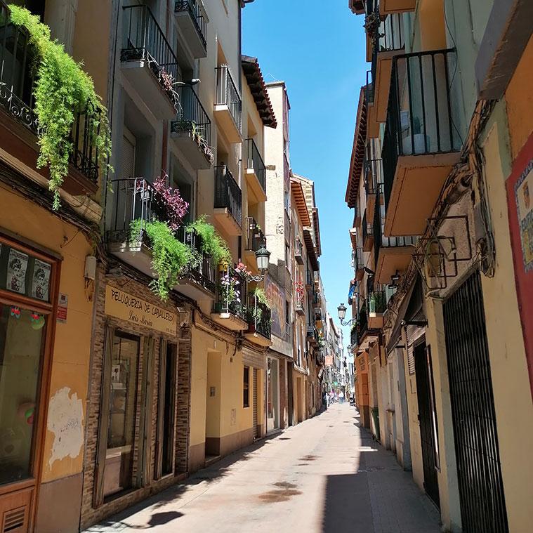 Edificios historicos de la Calle San Pablo