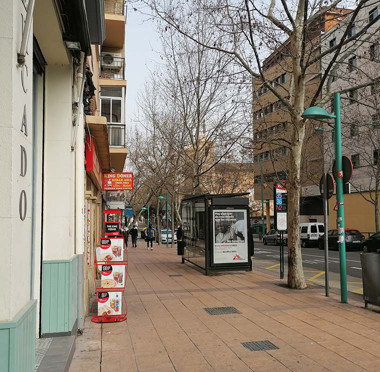 El Mercado de Altabás en la Calle Sobrarbe