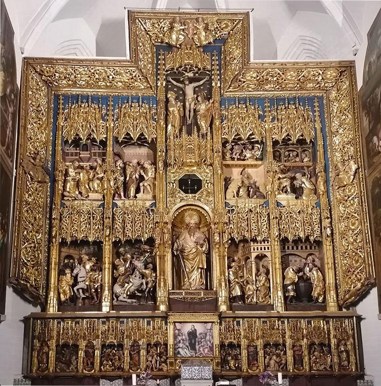 El retablo mayor de la iglesia Parroquial de San Pablo en Zaragoza, es una importante obra del escultor Damián Forment, fechada entre 1511 y 1521