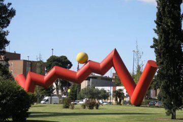 Escultura Puesta de Sol en Zaragoza