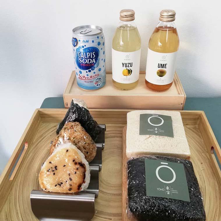 Productos 'gourmet' y comida japonesa tradicional para llevar en Espacio Toho