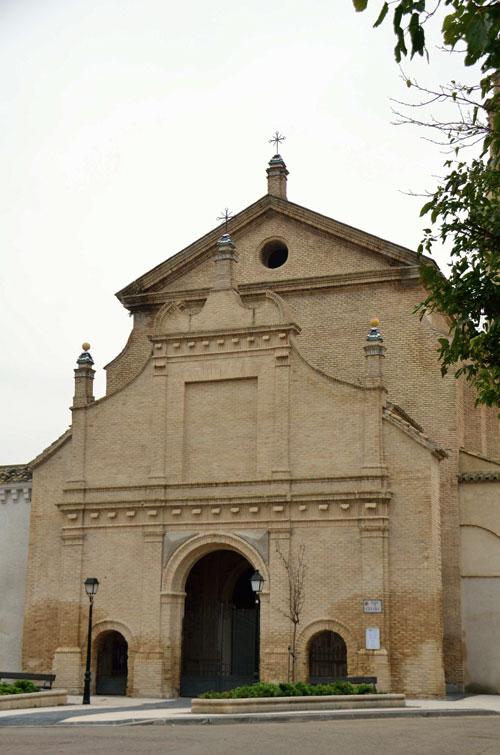 Fachada de la iglesia de la Cartuja