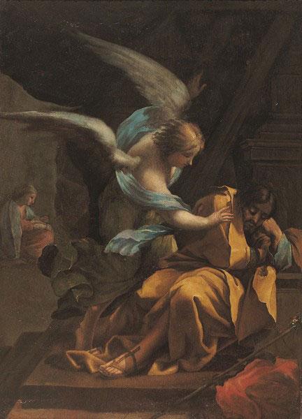 Goya pintó en 1772 tres lienzos de gran formato para el desaparecido oratorio del Palacio de Sobradiel. Uno de ellos, el Sueño de San José, se conserva en el Museo de Zaragoza