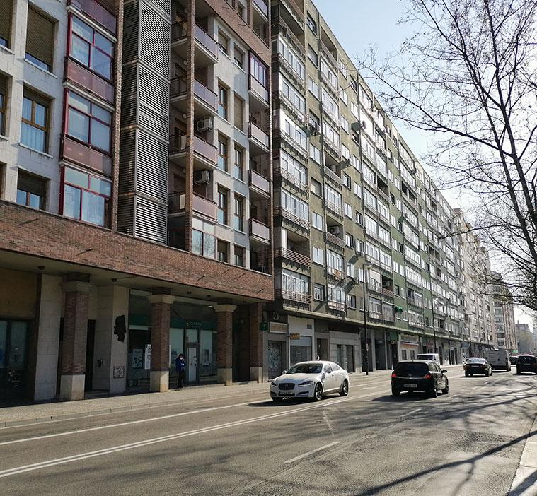 Avenida Cataluña de Zaragoza