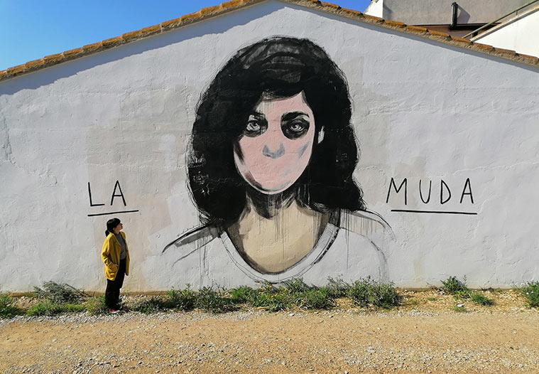 Grañén, un referente del arte urbano en mitad del medio rural