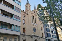 Iglesia de las Siervas de Maria en el Paseo Sagasta de Zaragoza