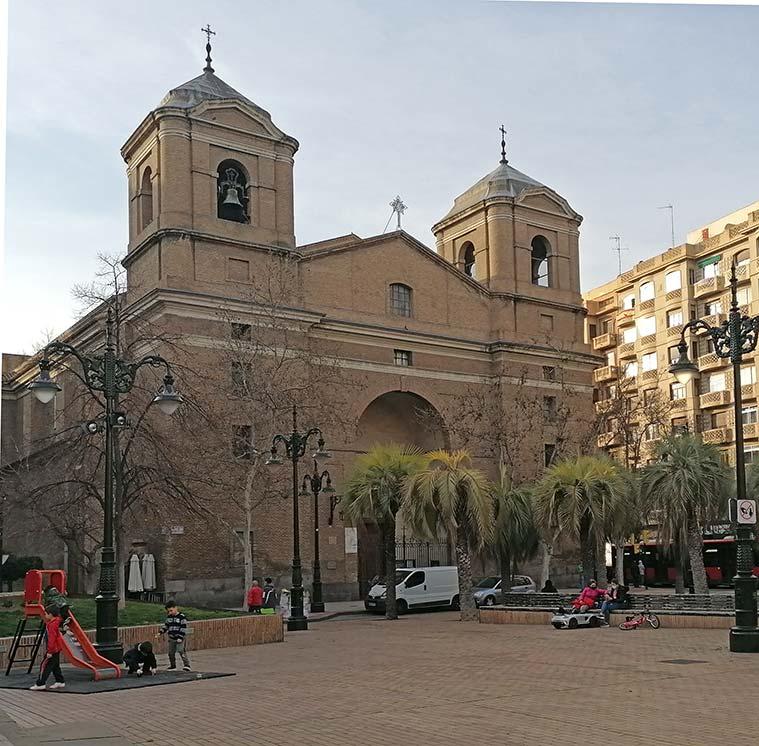 Iglesia del Portillo en Zaragoza
