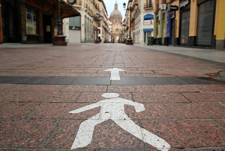 La Calle Alfonso fue una de las primeras de la ciudad en ser peatonalizada