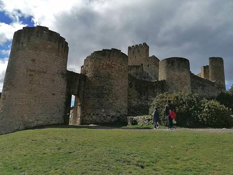 entrada del castillo de loarre
