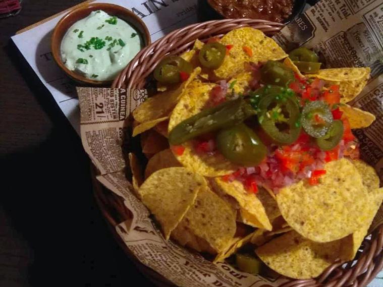 Mononoke Cafe nachos