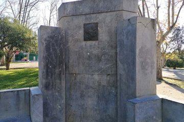 Monumento a Luis López Allué en el Parque Grande