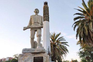 Monumento al Tío Jorge en el parque homonimo