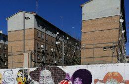 Mural feminista de la Plaza de la Memoria Histórica