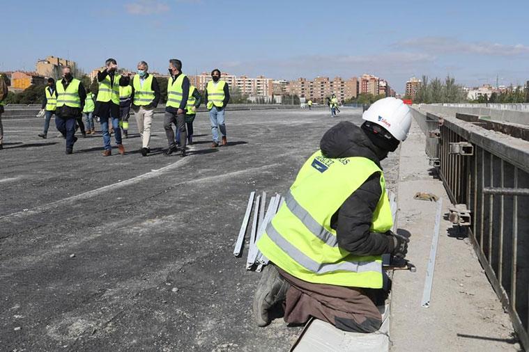 Obras de prolongación de la Avenida Tenor Fleta hasta el Tercer Cinturón