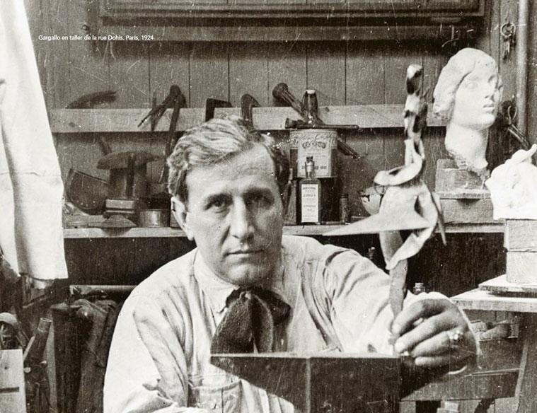 Pablo Gargallo, uno de los escultores más importantes del primer tercio del siglo XX fotografia de 1924