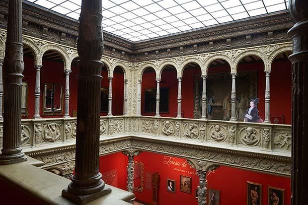 Vista desde el piso superior del Patio de la Infanta