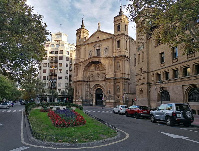 Plaza Santa Engracia de Zaragoza