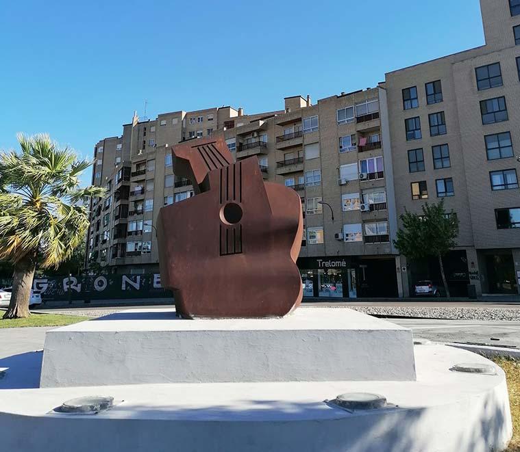 Plaza de la Ciudadania en Zaragoza