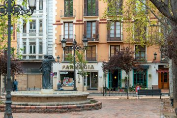 Plaza del Justicia en Zaragoza