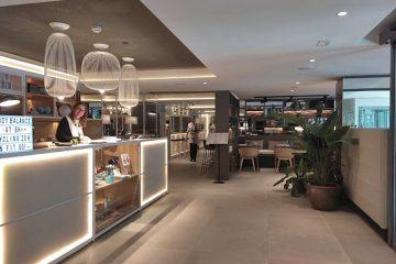 Restaurante Lateral en el Melia Innside de Zaragoza