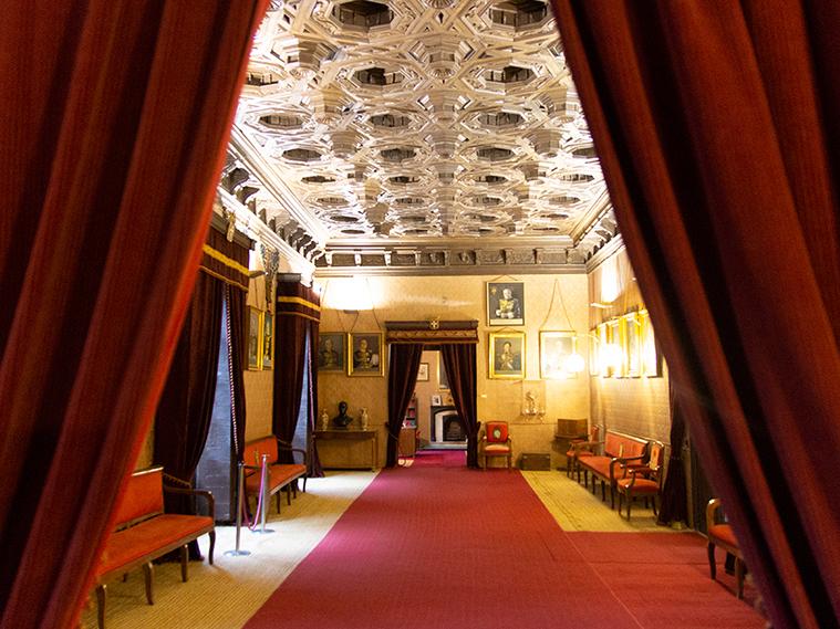 Salón de Retratos del Palacio de la Real Maestranza.