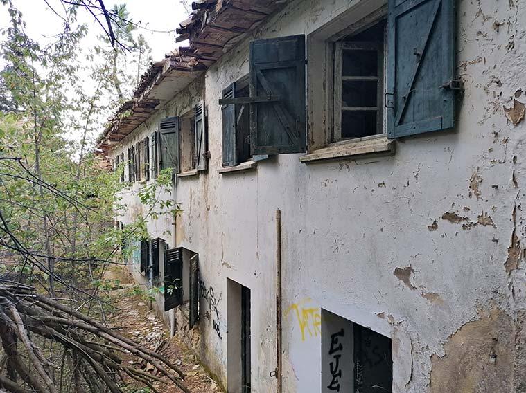 Sanatorio de Agramonte en el Moncayo