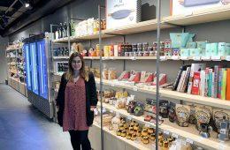 Sara Acero, impulsora del espacio gastronomico La Zarola