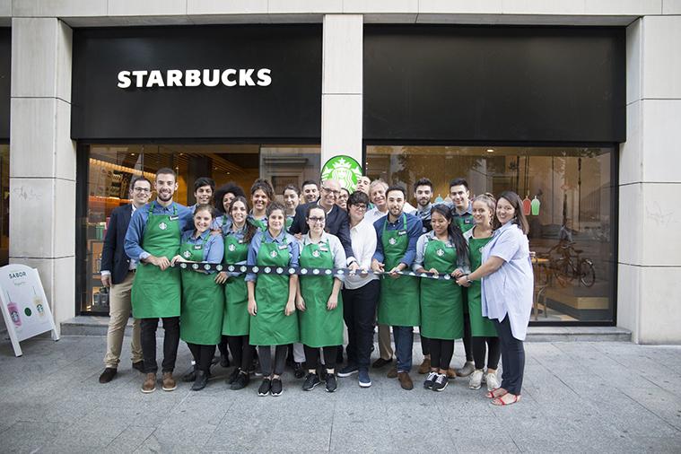 Starbucks Coso staff baristas