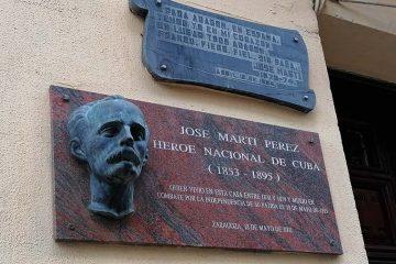 Tras los pasos de José Martí en Zaragoza
