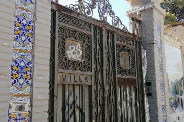 Villa Luna antigua villa luisa paseo cuellar parque pignatelli