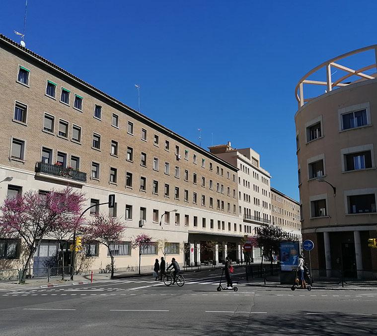 Avenida Valencia de Zaragoza
