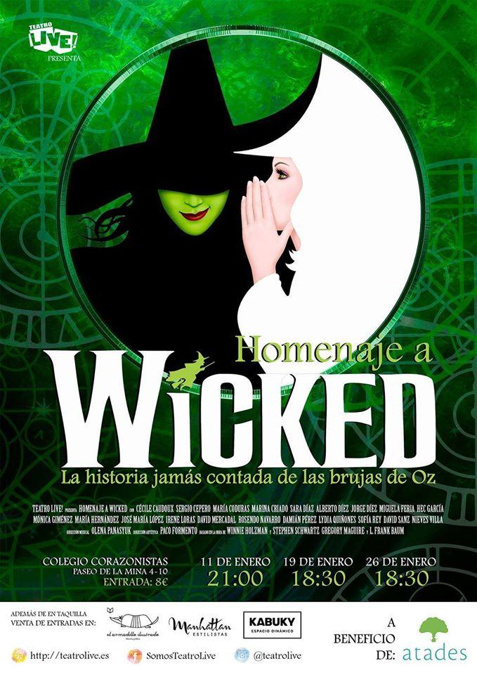 """Vuelve """"Wicked el Musical, la historia jamás contada de las brujas de Oz"""
