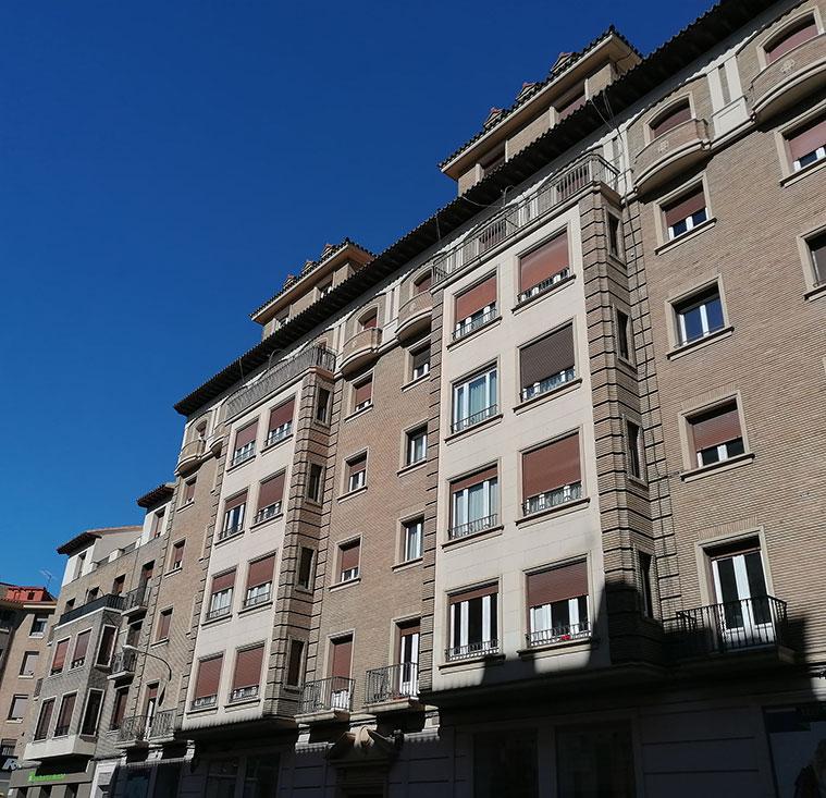 Edificios de viviendas en la Avenida Valencia