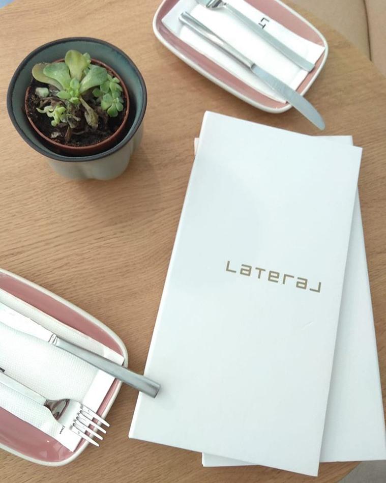 carta del restaurante lateral