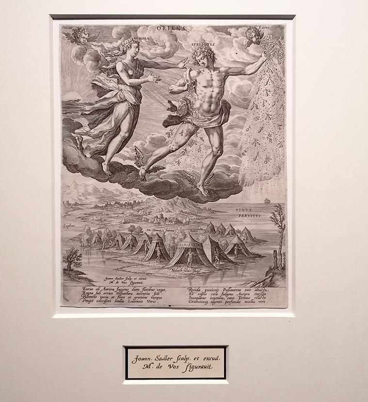 Grabados en la Exposición 'De Rubens a Van Dyck. La pintura flamenca en la Colección Gerstenmaier' en el Museo Goya