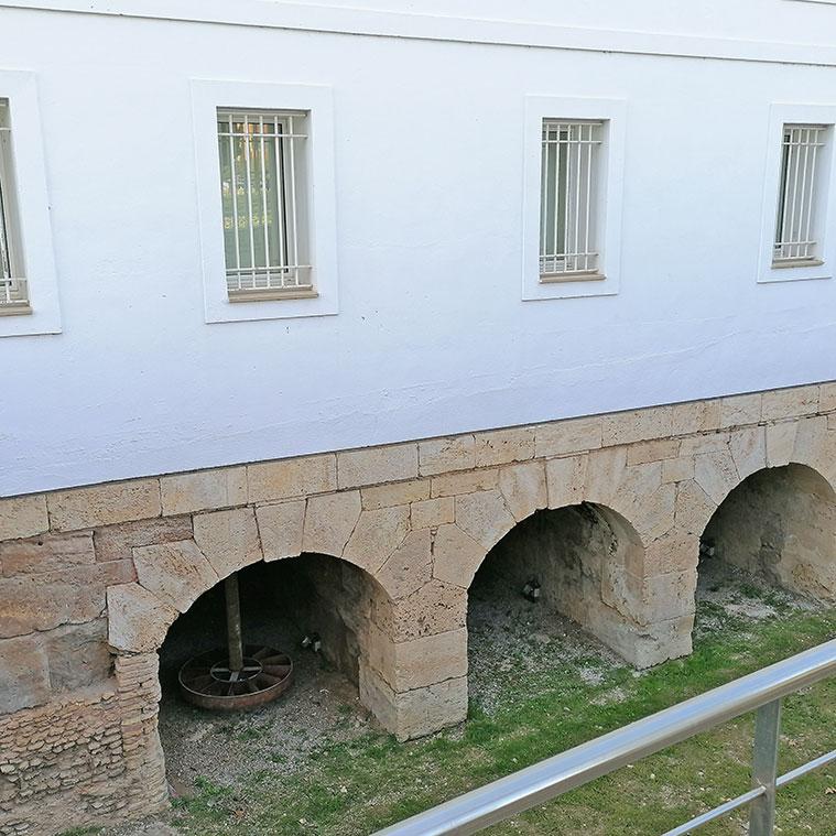 muelas del antiguo molino harinero
