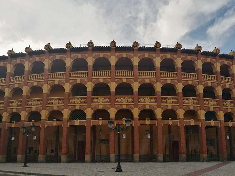 Exterior de la Plaza de Toros de La Misericordia