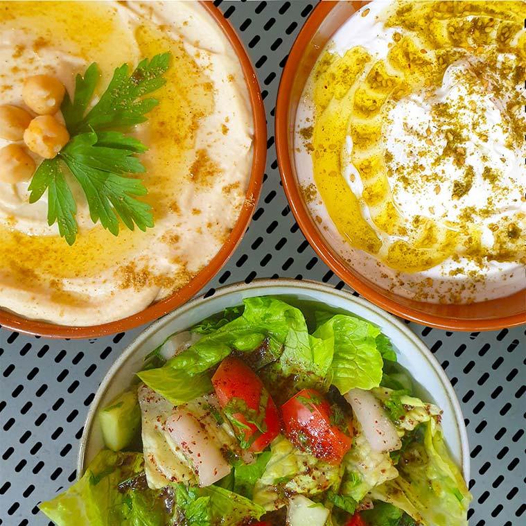 restaurante libanes La Manousheria