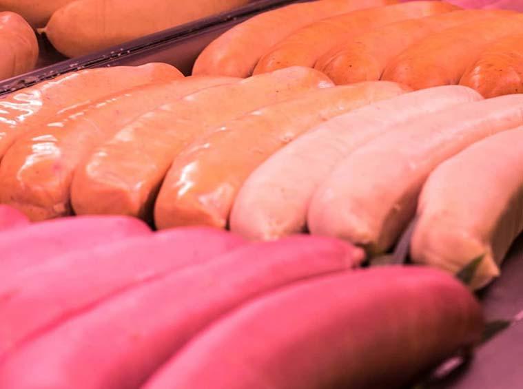 sajonia frankfurts y salchichas en zaragoza